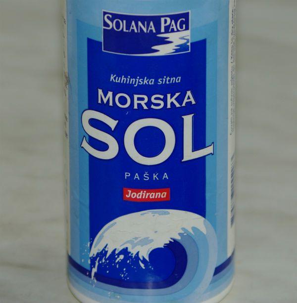 Соль с острова Паг фото