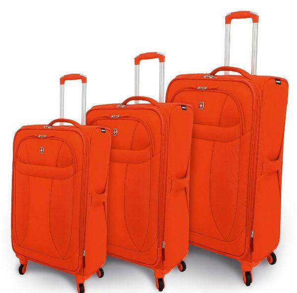 Тканевый чемодан фото
