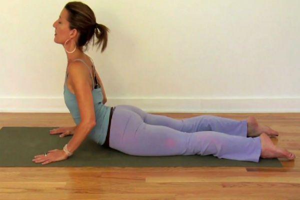 Упражнение кобра фото