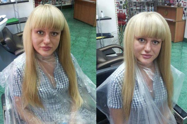 Буст ап на длинные волосы фото до и после