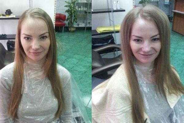 Буст ап на длинные волосы фото