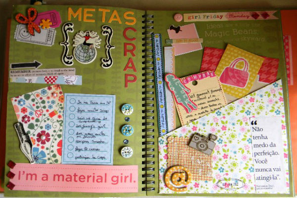 Идея декора личного дневника для девочки фото