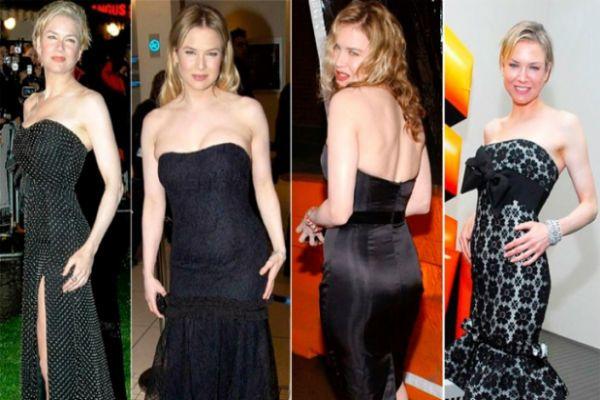 Изменения известной актрисы Рене Зеллвегер фото