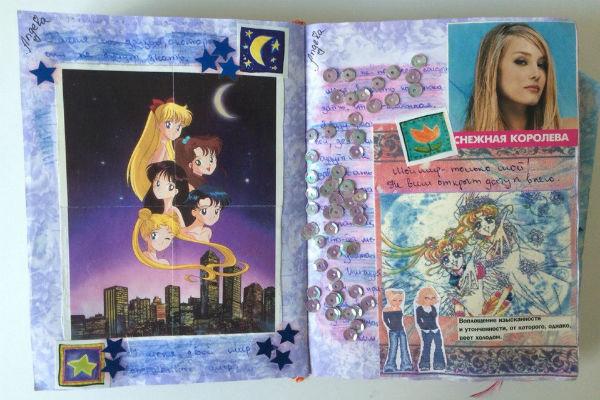 Картинки в дневнике для девочки фото