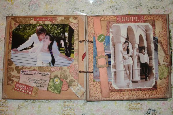 Свадебные фотографии в дневнике фото