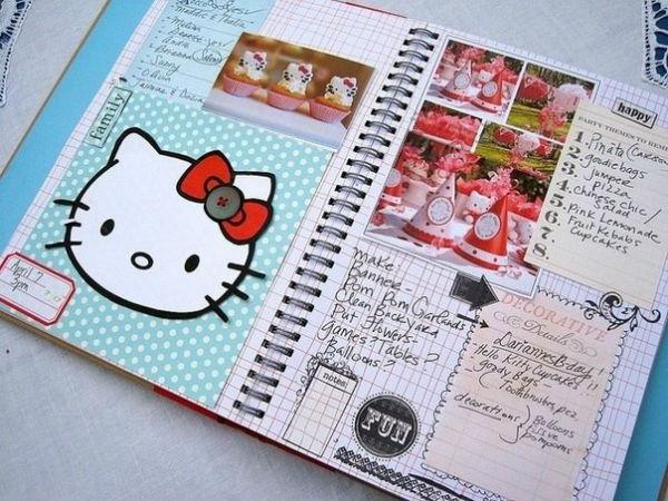 Дневник девочки фото