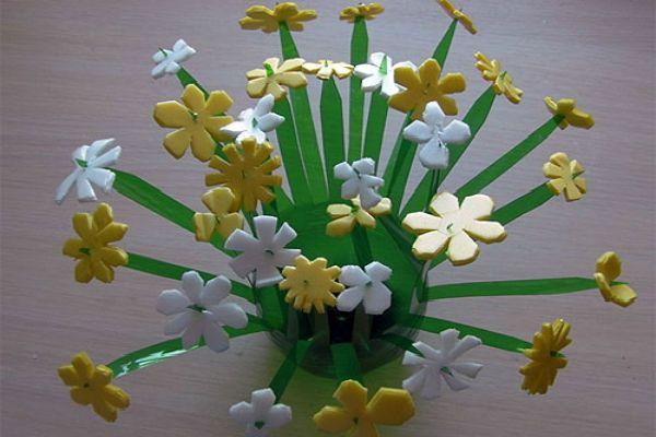 Готовая декоративная вазочка фото