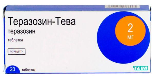 Теразозин фото