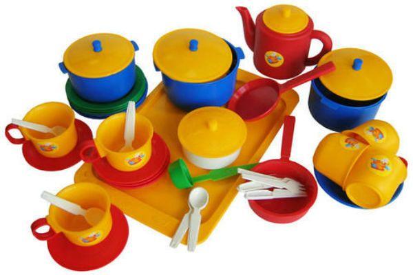 Набор посуды фото