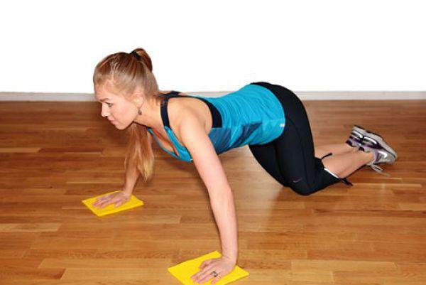 Аэробика отжимания упражнение 1 фото