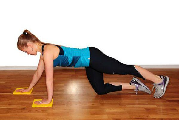 Аэробика планка упражнение 2 фото