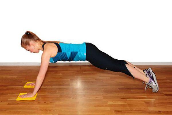 Аэробика планка упражнение 3 фото