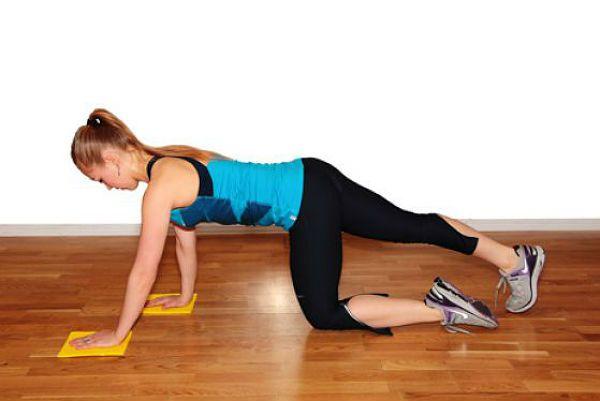 Аэробика планка упражнение 4 фото