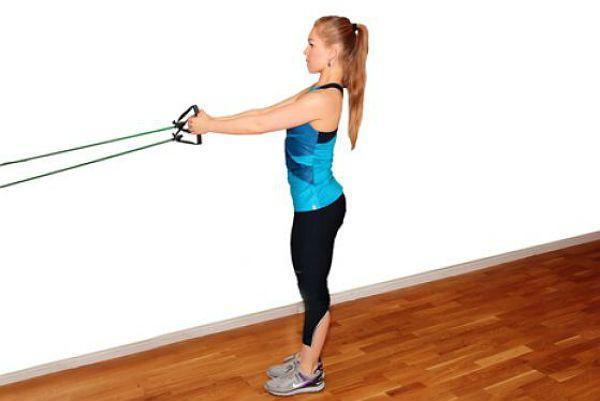 Аэробика тяга со скручиванием упражнение 1 фото
