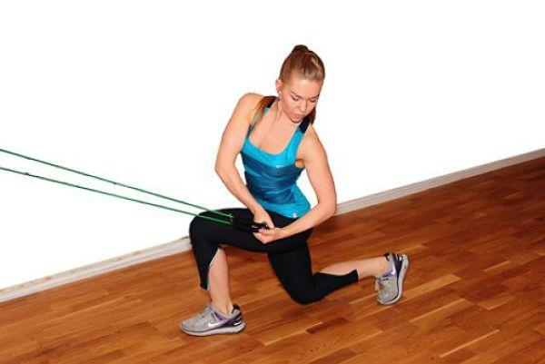 Аэробика тяга со скручиванием упражнение 2 фото