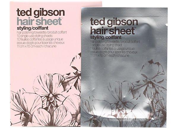 Антистатические салфетки Ted Gibson Hair Sheet фото