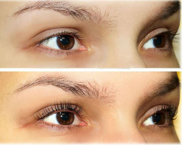 Биозавивка фото до и после
