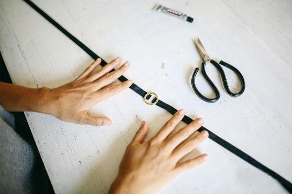 Чокер с кольцом 2 фото