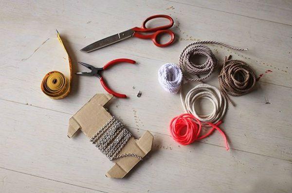 Материалы для плетеного кулона фото