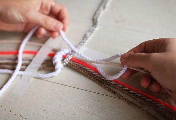 Плетение кулона шаг 5 фото