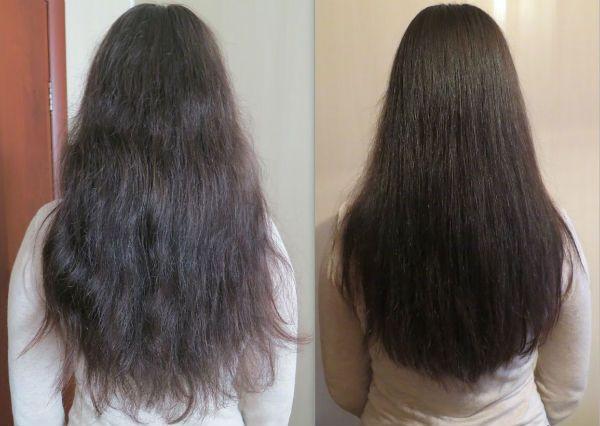 Полировка волос фото