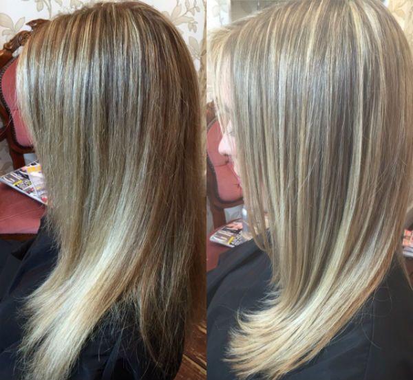 Шлифовка кончиков волос фото