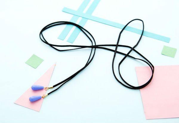 Стильный шнурок готов фото
