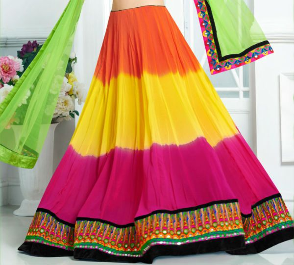 Индийская юбка фото