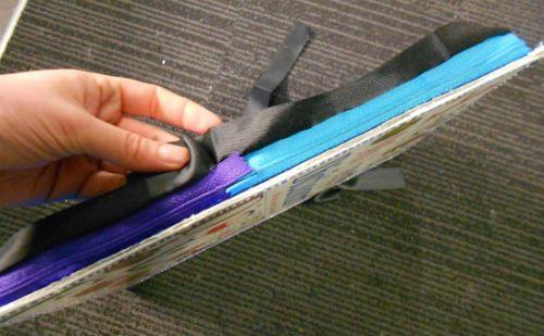 Чехол для планшета из книжной обложки 10 шаг фото