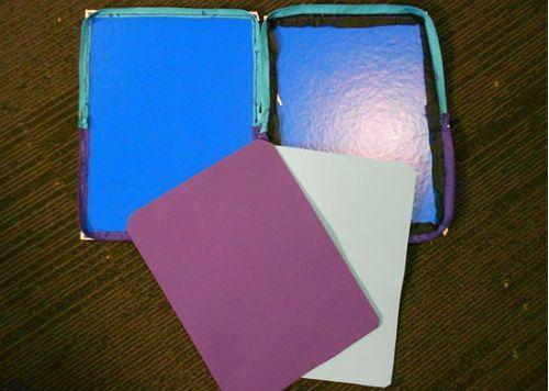 Чехол для планшета из книжной обложки 11 шаг фото