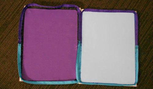 Чехол для планшета из книжной обложки 12 шаг фото