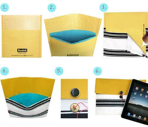 Чехол для планшета из конверта фото