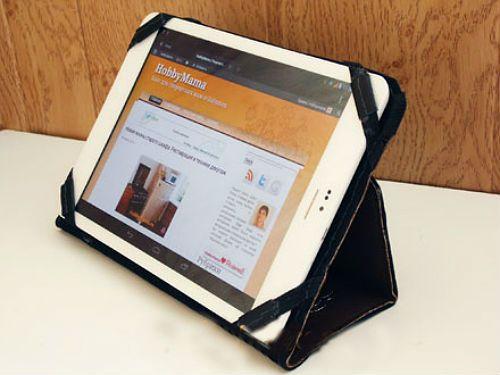 Кожаный чехол для планшета сделать своими руками мастер класс 2 фото