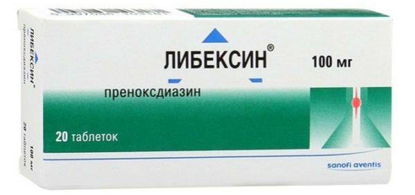 Либексин таблетки от кашля фото