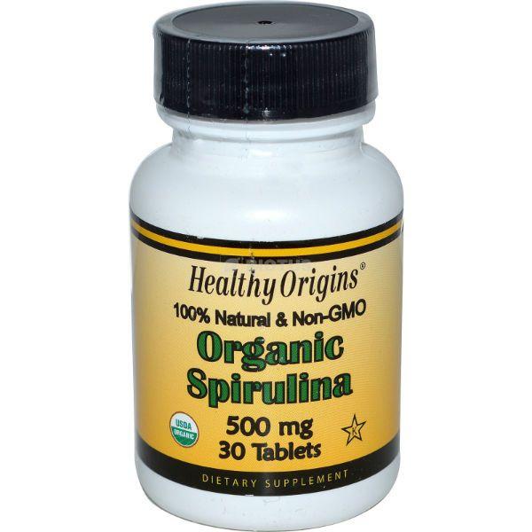 Спирулина Healthy origins фото