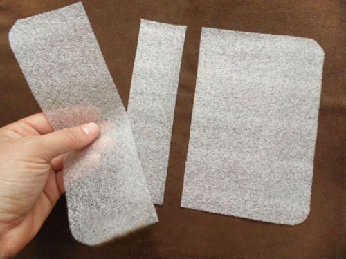 Вкладки для чехла из кожи фото
