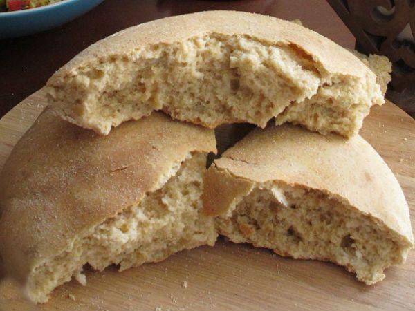 Бездрожжевой хлеб без закваски фото