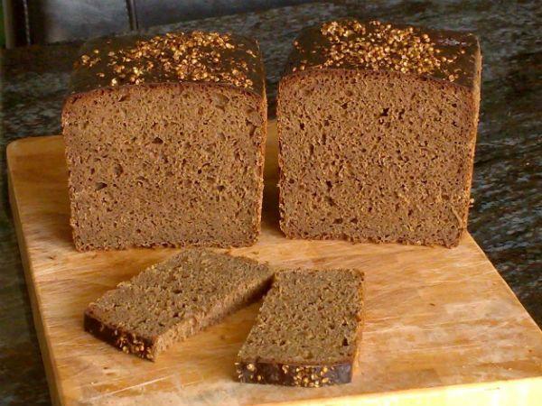 Бездрожжевой бородинский хлеб на закваске фото
