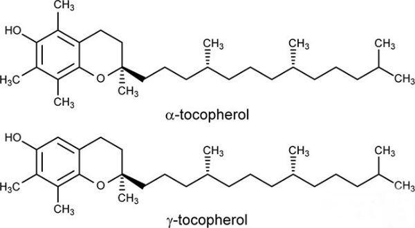 Витамин Е формула фото