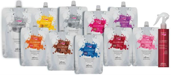 Kaaral Baco Color splash временная краска для волос фото