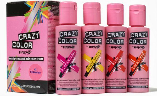 Crazy Color временная краска для волос фото