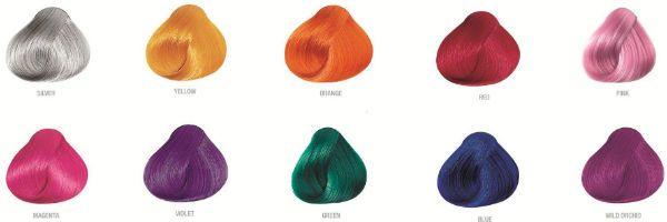 Pravana Chromasilk Creme Hair Color временная краска для волос палитра фото