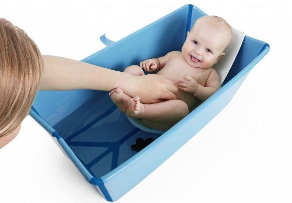 Складная ванночка для купания новорожденных Stokke фото