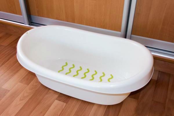 Ванночка для купания новорожденных ИКЕА фото