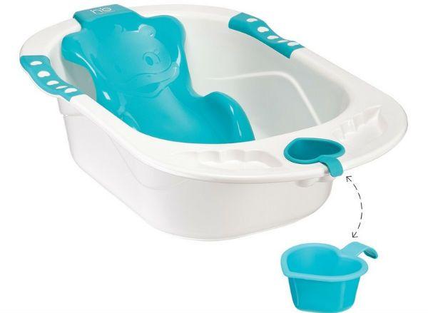 Ванночка с анатомической горкой Happy Baby Bath Comfort фото