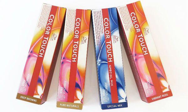 Безаммиачная краска Wella Color Touch фото