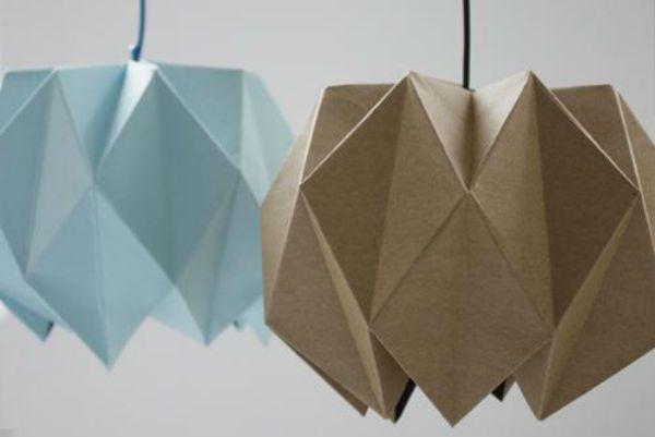 Бра из бумаги оригами шаг 2 фото
