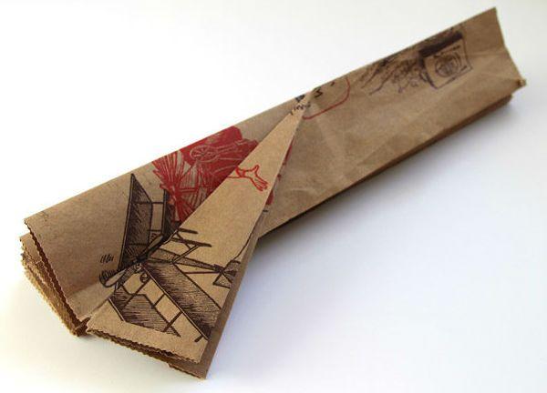 Бра из бумаги в технике оригами шаг 3 фото