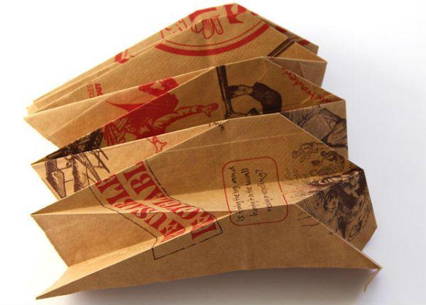 Бра из бумаги в технике оригами шаг 4 фото