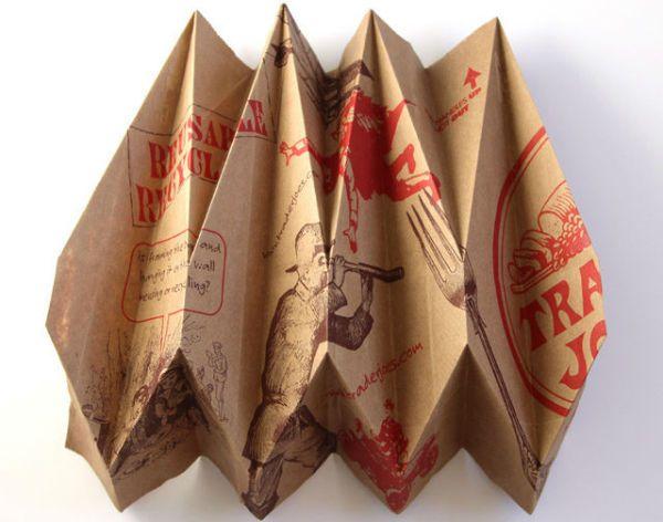 Бра из бумаги в технике оригами шаг 5 фото